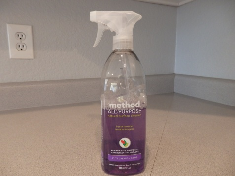 Love the lavender scent, almost made it fun to clean.