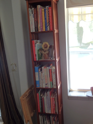 Yes, I have a shelf just for cookbooks.